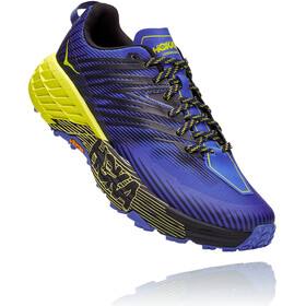 Hoka One One Speedgoat 4 Zapatillas Hombre, black iris/evening primrose